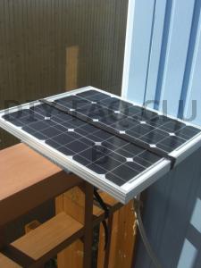ソーラーパネルを自作!50Wでも出来るベランダソーラー発電の作り方