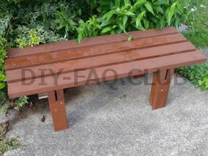 2×4だけでできる簡単なベンチの作り方